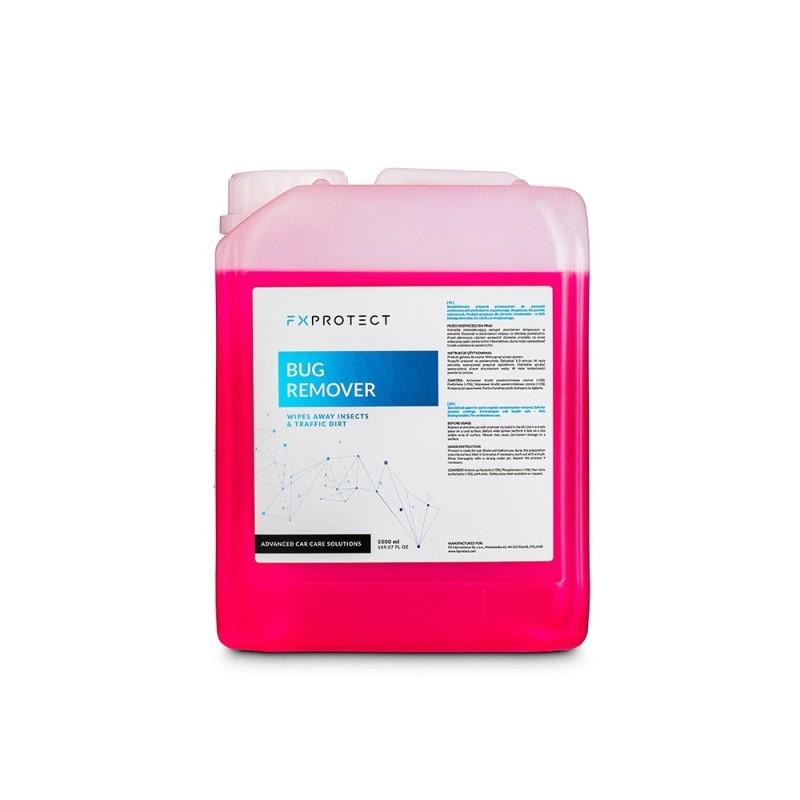 BUG REMOVER 5L - FX PROTECT  Le produit est destiné à l'élimination des polluants organiques SAS La Boutique JPLVAD FX PROTECT