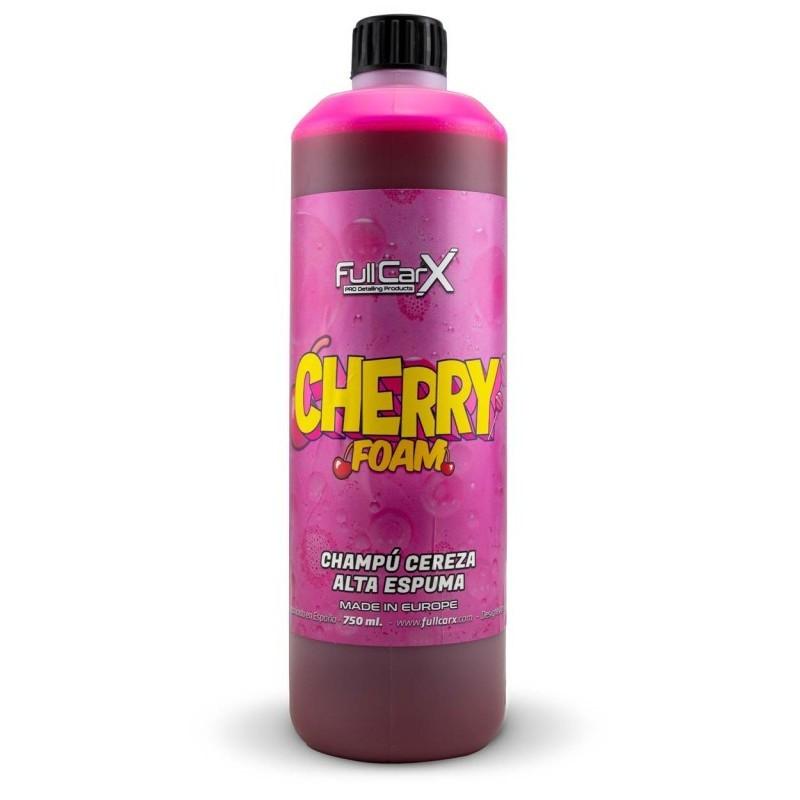 CHERRY FOAM 750ML - FULLCARX  Le shampooingCHERRY FOAMest un produit hautement concentré pour un nettoyage en profondeur de la