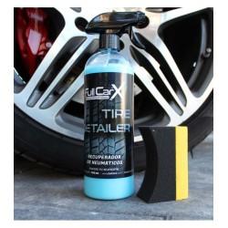TIRE DETAILER 750ML - FULLCARX  Produit de protection et de nettoyage spécialement conçu pour tous les types de pneus. SAS La B