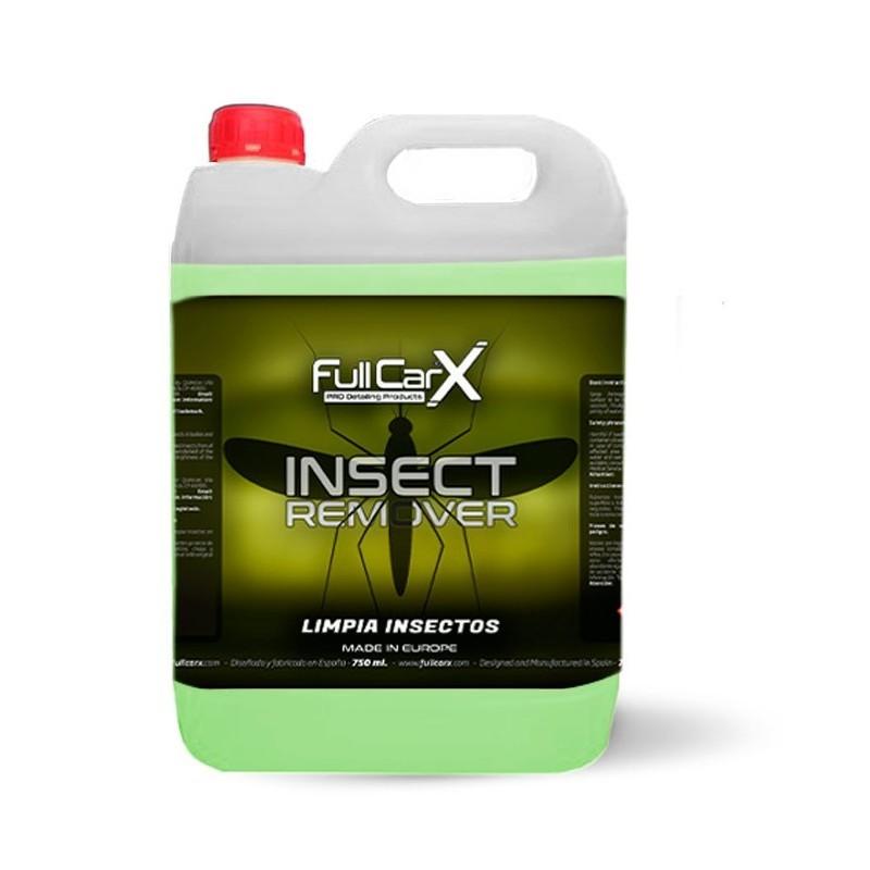 INSECT REMOVER 5L - FULLCARX  Il dissout extrêmement rapidement les insectes déjà secs et sans frotter. SAS La Boutique JPLVAD