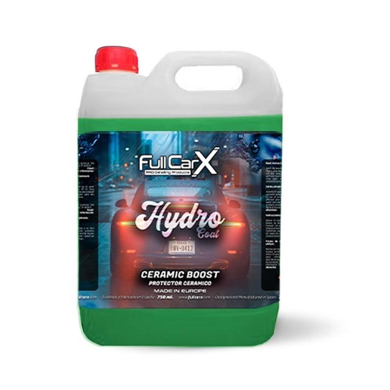 HYDRO COAT (CERAMIC BOOST) 5L - FULLCARX  Si vous cherchez à appliquer untraitement céramique ultra rapide, hydrophobe et de qu