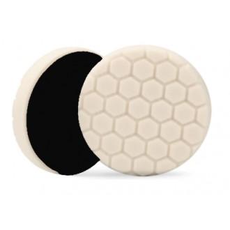 PAD 165MM - POLISH MOYEN (EXAGONE)  Ce pad chauffe moins que les autres tampons et est très utile sur les surfaces arrondies car