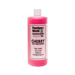 CHERRY AIR FRESHENER 946ML - POORBOY'S  POORBOY'S WORLD CERISE 946ml- NEUTRALISANT ET FRAICHEUR D'ODEUR Un assainisseur d'air qu
