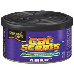 VERRI BERRY - CALIFORNIA SCENTS  Califonia Scentsvous propose différents diffuseurs d'odeur pour la voiture. Les boitesCalifor