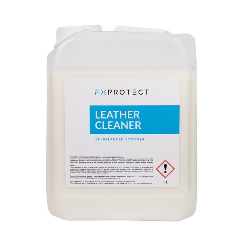 LEATHER CLEANER 5L (CUIRS) - FX PROTECT  Le produit est destiné au nettoyage et à l'entretien efficaces des tissus en cuir SAS L