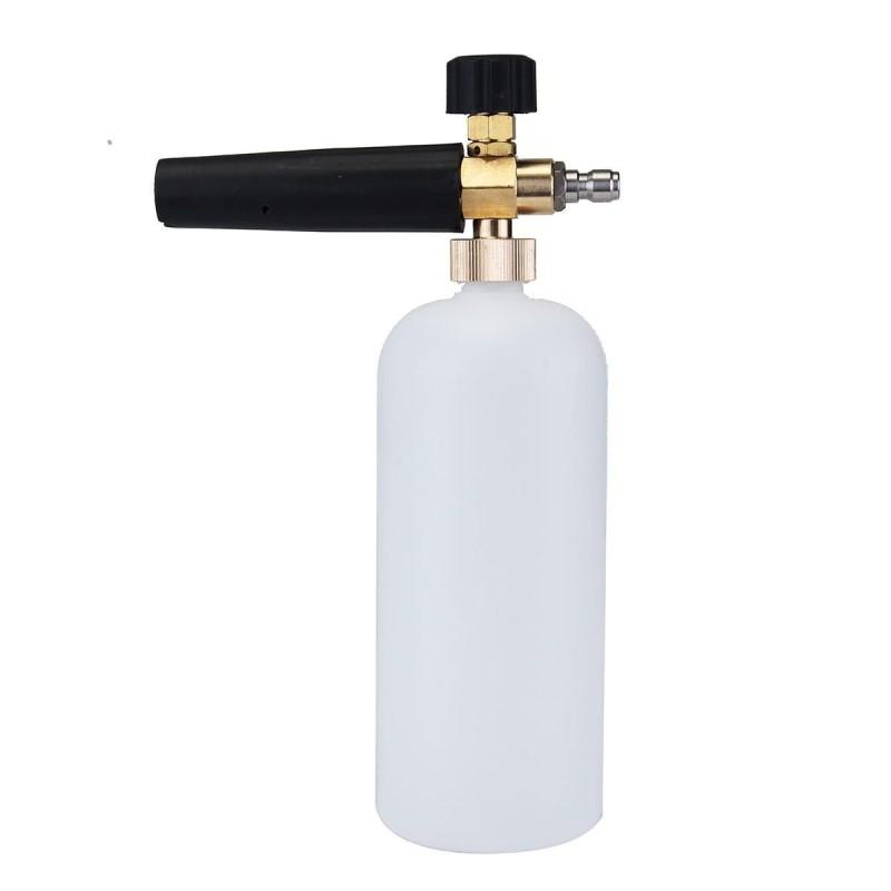 FOAM LANCE 1/4 RAPIDE  LeFoam Lanceest un appareil à brancher sur votre nettoyeur haute pression afin d'effectuer un pré-lavag